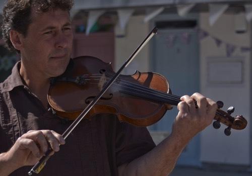 Healing light festival musician