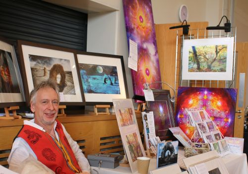 Healing Light Festival exhibitor Ian David Spencer