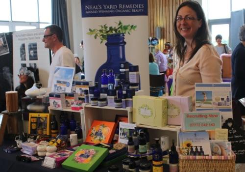 Healing Light Festival exhibitor Neals Yard