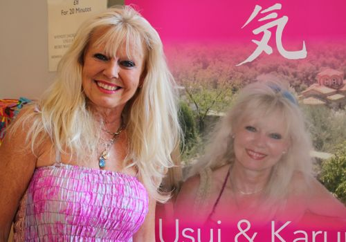 Wendy Jackson festival exhibitor and reiki therapist