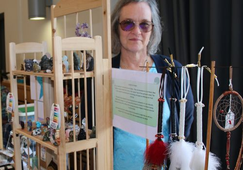 Healing Light Festival therapist and exhibitors Sheila Bullard