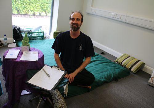 Healing Light therapist Dave Sowden
