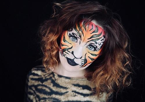 The Healing Light Festival Face Painter Carolyn Maddox